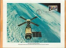 "SKYLAB 3rd MANNED MISSION  MAY 14,1974 HOUSTON SPACE PHOTO 8  1/2"" X 11"""