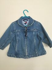 Distressed Denim Tommy Hilfiger Coat, 18-24months, Free Shipping
