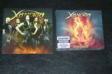 XANDRIA-FIRE & ASHES LTD / Digipak + SIGNED CARD