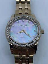 CITIZEN Silhouette Crystal White Dial Ladies Watch EM0773-54D