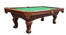"Brand New Empire USA The Tefton 8FT Billiard Pool Table 1"" Slate Top"