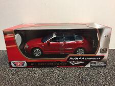 Audi A4 Cabriolet 1:18 Motor Max