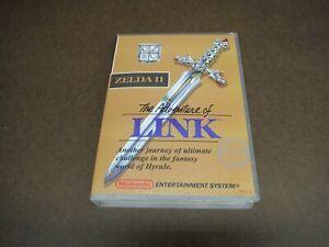 The Adventure of Link  / Zelda 2   NES New Plastic Hard case / Box  Nintendo