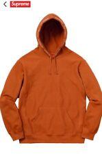Supreme SS18 Channel Hooded Sweatshirt - Copper Orange Size L