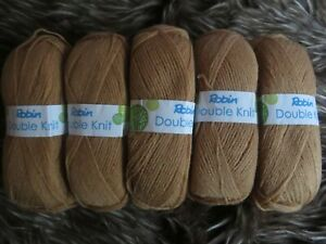 Robin DK 100g Acrylic Yarn colour...Honey