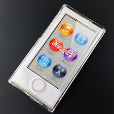 Crystal Clear Transparent Full Hard Case Cover for Apple iPod Nano 7 7th Gen