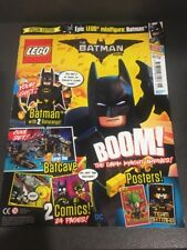 Lego The Batman Movie Magazine In New Condition But Without Figure Issue 01