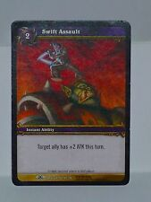 SWIFT ASSAULT - Warcraft TCG - ARTISTS PROOF - Dark Portal - BEN YOUNG -149/319