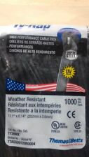 1000 pcs attache câble noir   rilsan Colson 300 x 3,6 mm UV WATER QUALITE