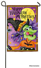 Halloween Pretties Garden Flag Reflections Fall Trick or Treat  Witch Collection