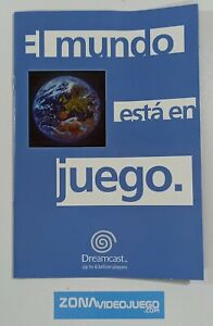 Catálogo el mundo está en juego, Sega Dreamcast Europe. Español. 1999.