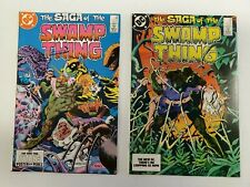 SWAMP THING #22 & #23 (MAR 1984) DC. TWO ISSUE LOT, HIGH GRADE