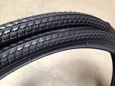 MTB 26x1.50 Black Bicycle Tires(2xtires w/tubes)