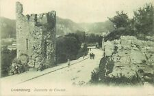 Luxembourg la descente de Clausen