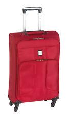 Handgepäck 55cm Bordcase Rot Trolley 29L Bordgepäck 1,8kg Kabinengepäck Koffer
