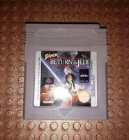Nintendo Gameboy Spiel Modul Super Star Wars Return Of The Jedi G21