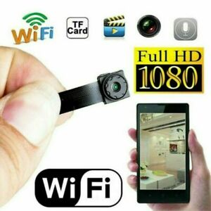 HD Mini Micro DVR Inalámbrico WiFi Espia IP Camara Oculta DIY Modulo Vision