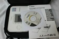 CANON SELPHY CP740 COMPACT DIGITAL PHOTO PRINTER Inc' CHARGER PAPER & CARRY CASE
