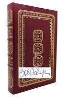 Bob Schieffer THIS JUST IN Signed Easton Press 1st Edition 1st Printing