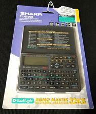 NEW! SHARP EL-6590B MEMO MASTER Electronic Organizer 32kb 9 BUILT-IN FUNCTIONS