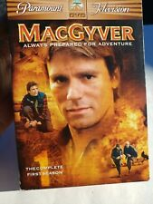 MacGyver - The Complete First Season 1 ~ Dvd 2005 ~ 6 Disc Set 1985-86 original