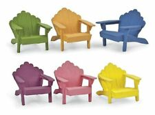 Miniature Fairy Garden Colorful Adirondack Chairs - Your Choice - Buy 3 Save $5