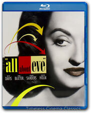 All About Eve Blu ray New Bette Davis Anne Baxter George Sanders