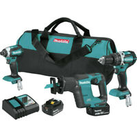 Makita XT337T 18V LXT Li-Ion 5.0 Ah 3-Piece Combo Kit New