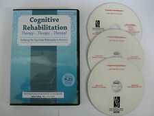 COGNITIVE REHABILITATION THERAPY~TRAINING SEMINAR 6 HOURS ON 3 DVD~COST £132