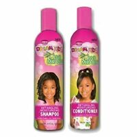 African Pride Dream Kids Olive Miracle Detangling Shampoo and conditioner