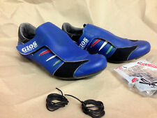 ultra rare NOS Vintage GIOS tricolore race shoes Schuhe Scarpe new old stock 40