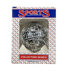 Birmingham Barons Baseball Christmas Ornament SPORTS COLLECTOR SERIES 1999
