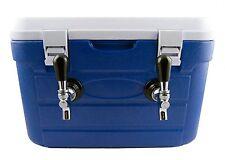 Jockey Box 2 Tap 2x50ft Stainless Steel Coils DBX250 Draft Kegerator FREE SHIP