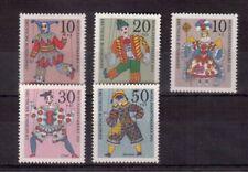 GERMANY 1970 SET MINT NH #B463/67, PUPPETS !!