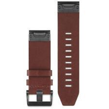 Garmin en cuir marron Quickfit 26 mm Strap Fenix 3 5x Quatix Tactix 010-12517-04