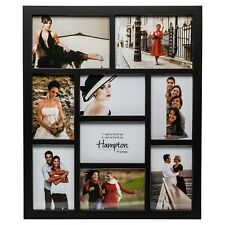 Cheap Black 9 Multi Aperture Photo Frame Picture Display Wall Collage 4x6 5x7