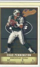 2002 FLEER AUTHENTIX SECOND ROW #ed 010/250 his jersey number CHAD PENNINGTON