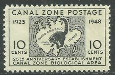 U.S. Possession Canal Zone stamp scott 141 - 10 cent issue of 1948 - mnh  #5
