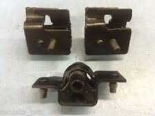FL & FR Motor Mounts and Trans Mount for 1995-1998 Dodge B1500/B2500/B3500...etc