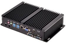 Mini Industrial PC Fanless Intel i3 4010U 1.70GHz 256GB SSD + 1TB HDD 8GB DDR3L