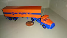 DDR Ostauto 1:87 VEB Deutrans orange Unic Szm 2/2 Koffer Spedition Berlin DDR H0