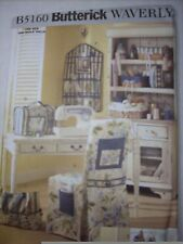 BUTTERICK Patterns: B5160 Sewing Room Accessories and Organizers