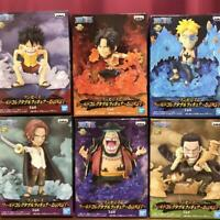 One Piece World Collectible Figure BURST Set of 6 Complete WCF