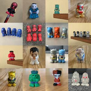 Up 100 Kinds Ooshie DC COMICS Marvel DISNEY WWE OOSHIES Figures Toys