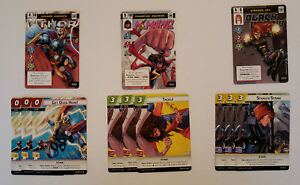 Marvel Champions - Promo - Black Widow - Thor - Ms Marvel - Fantasy Flight Games
