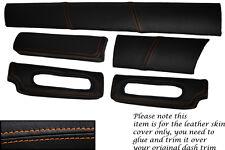 Orange stitch fits lotus elise exige s1 96-01 cinq pièces dash kit Lthr couvre