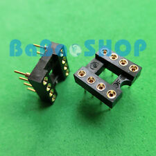 12pcs New 8 Pin Gold-Plated Socket For OP-AMP DIP8
