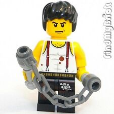 M701s Lego Way of the Dragon Custom Bruce Lee Minifig with Nunchake Nunchaku NEW