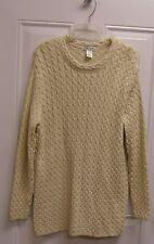 Spiegel Cableknit Beige Sweater XL New