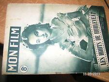 Revue Mon Film n°50 (1947) Les hauts de hurlevent M.Oberon /A.Gardner Rochefort